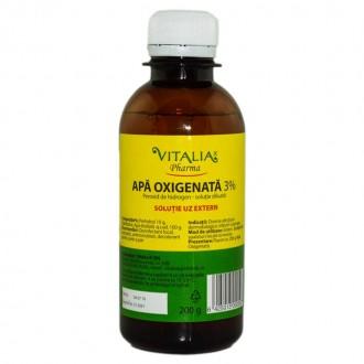 Apa oxigenata 3% 1L Vitalia