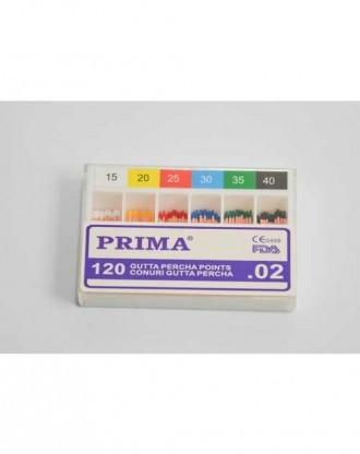 Conuri Gutta Percha asortate 45-80 (120 buc)