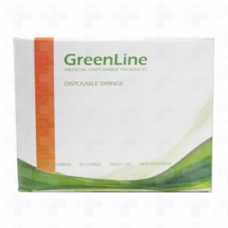 Seringi GreenLine Luer-Lock/Luer-Slip cu ac