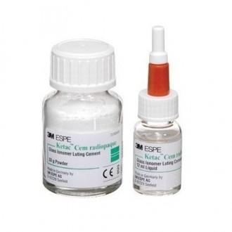 Ketac-Cem Radiopaque Ciment 33g PLV+12ml LIq